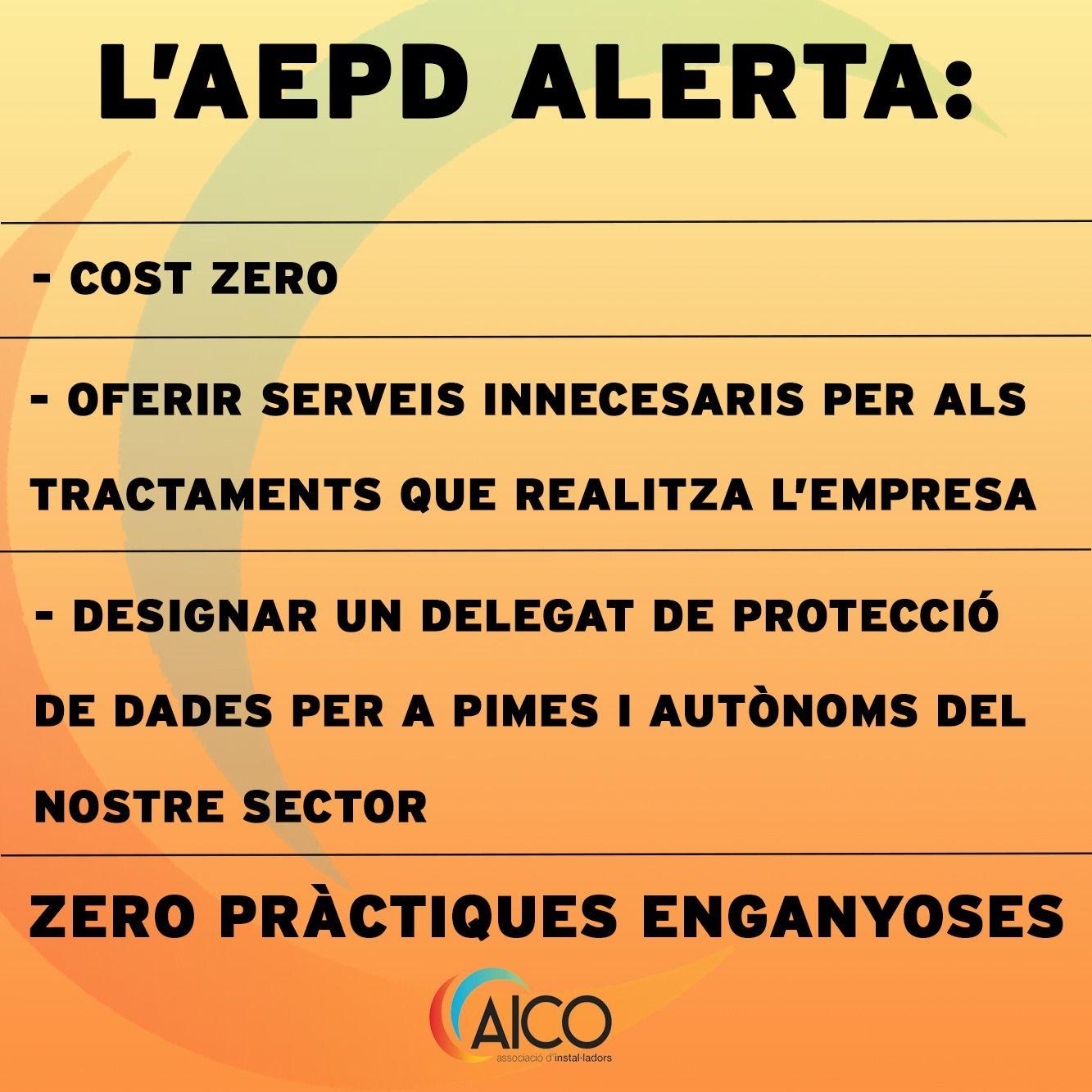 Aepd Alerta Cost Zero Aico